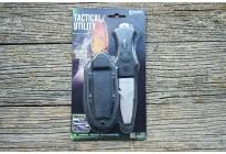 Нож тактический McNETT сталь 420, клинок 7,62см + ножны