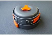 Набор посуды походный DS-200 сковородка+кастрюля, алюминий
