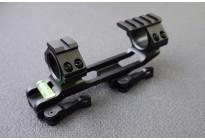 Кронштейн 30мм монолит с выносом, быстросъемный облегченный с индикат. уровня и планкой