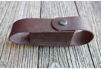 Чехол для аэрозольных баллончиков 100мл, кожа, коричневый