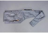 Чехол кожзам/брезент для спортивных винтовок, черный, 110см