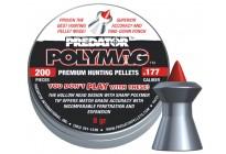 Пули для пневматики JSB Predator Polymag 4,5мм 0,52г (200шт)