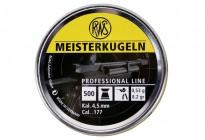 Пули для пневматики RWS Meisterkugein 4,49мм 0,53гр (500шт)