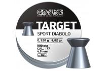 Пули для пневматики JSB Target Sport Diabolo 4,5мм 0,52гр. (500шт)