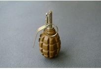 Макет гранаты Ф-1 черная/зеленая