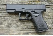 Пистолет страйкбольный Galaxy G.15+ (Glock 17) с кобурой, кал. 6мм