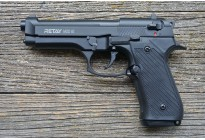 Пистолет охолощенный Retay MOD92 (Beretta 92) черный, кал. 9мм P.A.K