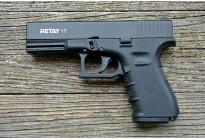 Пистолет охолощенный Retay G17 (Glock 17) черный, кал. 9мм P.A.K