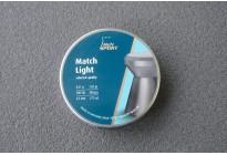 Пули для пневматики H&N Match Light 4,5 мм 0,51г (500шт)