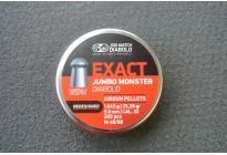 Пули для пневматики JSB Exact Jumbo Monster Diabolo Redesigned 5,52мм 1,645г (200шт)