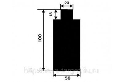 Мишень №7(поясная) Размер 500*1000