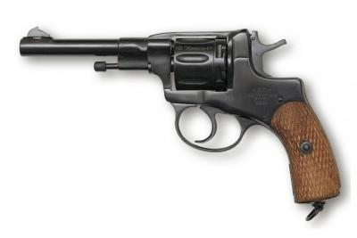 Револьвер сигнальный МР-313 (Наган-07) Тульский ОЗ