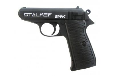 Пистолет пневматический Stalker S PPK (аналог Whalter PPK/S) 4, 5мм (металл, черный)