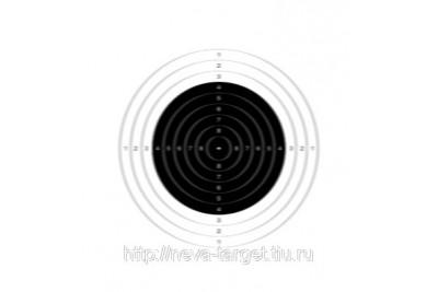 Мишень для пневматики №8 100*100мм 140гр 500шт