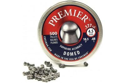Пули для  пневматики  Crosman Premier Domed, 4, 5 мм.0, 68гр ( 500 шт.)