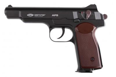 Пистолет пневматический Gletcher APS (АПС Стечкин) c Blowback