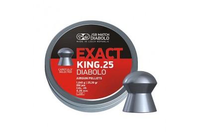 Пули для пневматики JSB Exact Diabolo King 6, 35мм 1, 645г (350шт)