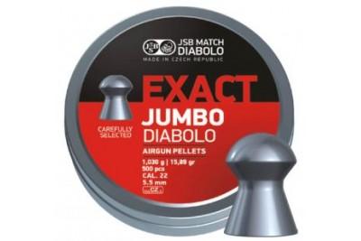 Пули для пневматики JSB Exact Jumbo Diabolo 5, 5мм 1, 03г (500шт)