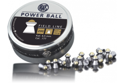 Пули для пневматики RWS Power Ball 4, 5мм 0, 61г (200шт)