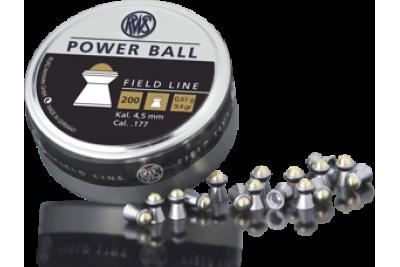 Пули для пневматики RWS Power Ball 4, 5мм 0, 61г (200шт)