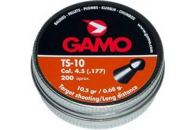 Пули для пневматики Gamo TS-10 4, 5 мм 0, 68 гр (200 шт.)