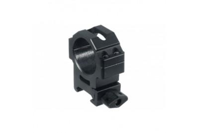 Кольца Leapers UTG 30 мм быстросъемные на Weaver с винтовым зажимом, средние (RG2W3154)