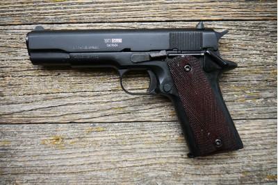 Оружие списанное охолощенное Colt 1911-СО Черный под патрон 10x24
