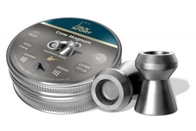 Пули для пневматики H&N Crown Magnum 4, 5 мм 0, 6г (500шт)