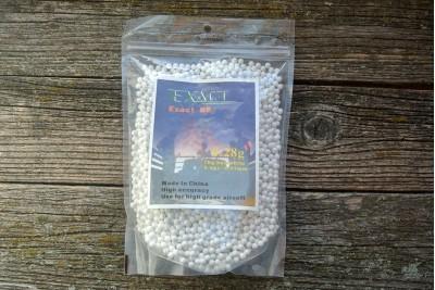 Шарики для страйкбола EXACT 0, 28г Белый (1кг/3570шт)