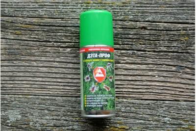 Профессиональная защита от комаров, клещей и гнуса  Дэта-Проф 140мл