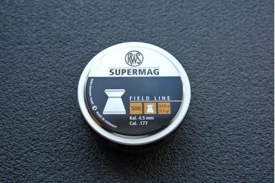 Пули для пневматики RWS Supermag 4, 5мм 0, 6гр (500шт)