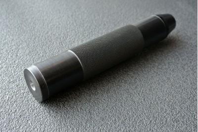 Саундмодератор цельный СУЦП для PCP винтовок Hatsan, Kral, Evanix кал. 5, 5-6, 35мм