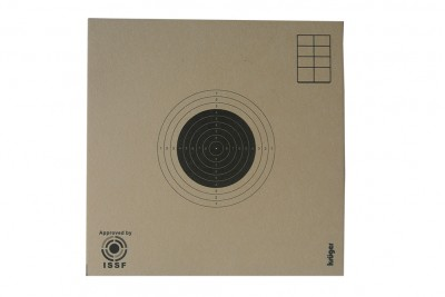 Мишень для пневматики ISSF №8 100*100мм 100шт (картон Kruger)