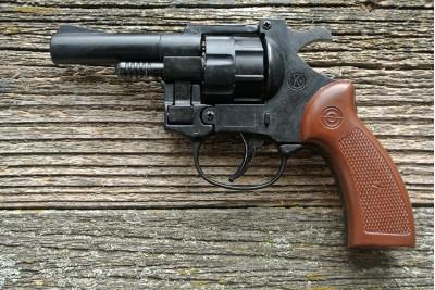 Мини револьвер сигнальный MOD 314, кал. 5, 6мм  Long Blanc (Италия)