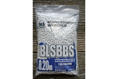 Шарики для страйкбола BLS 0, 20 (1кг/уп, белые)