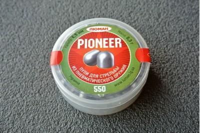Пули Люман Pioneer 4, 5мм 0, 3г (550шт)
