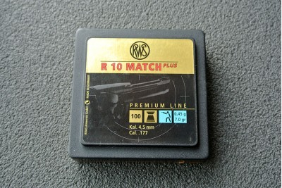 Пули для пневматики RWS R10 MATCH Plus (Premium Line), 4, 5мм 0, 45 гр (100шт)
