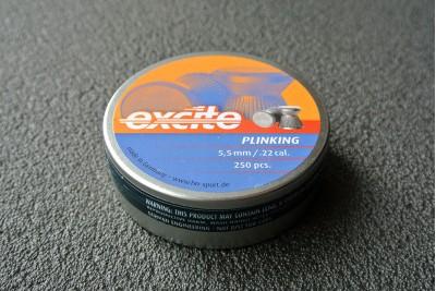 Пули для пневматики H&N Excite Plinking 5, 5мм 0, 84гр. (250 шт)