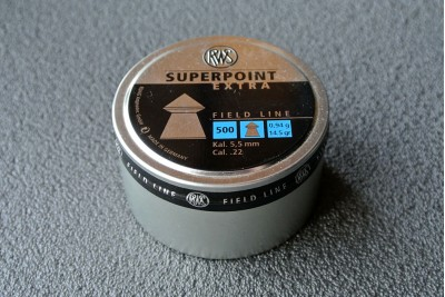 Пули для пневматики RWS Superpoint Extra 5, 5мм 0, 94гр (500шт)