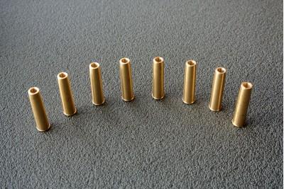 Картридж для револьвера Gletcher NGT под пули, латунь (8шт)