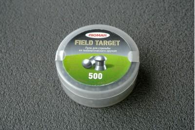 Пули Люман Field Target 4, 5мм 0, 55г (500шт)