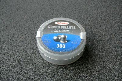 Пули Люман Domed Pellets 4, 5мм 0, 68г (300шт)