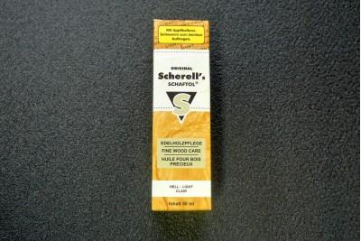 Масло для защиты древесины Scherells SCHAFTOL hell, бесцветный, 50мл