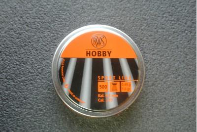 Пули для пневматики RWS Hobby 4, 5мм 0, 45гр (500шт)