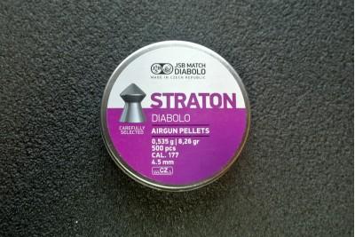 Пули для пневматики JSB Straton Diabolo 4, 5мм 0, 535гр (500шт)