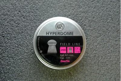 Пули для пневматики RWS Hyperdome 4, 5мм 0, 36гр (200шт)