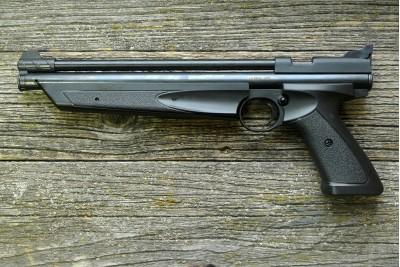 Пистолет пневматический Crosman P1377 American Classic (черный) кал. 4, 5мм