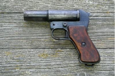 Пистолет сигнальный ВПО-524-2 (Ракетница ОСШ-42) под жевело