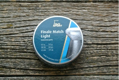 Пули для пневматики H&N Finale Match Light 4, 5мм 0, 51гр. (500 шт)