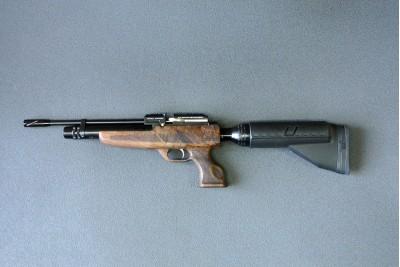 Пистолет PCP Kral Puncher NP-02 кал 4, 5мм, дерево